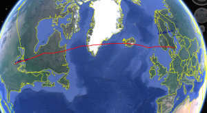 chicago to Finland