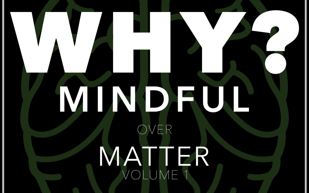 "Why is our first book called ""Mindfulness Over Matter: Volume 1""?"