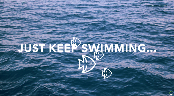 Just keep swimming…
