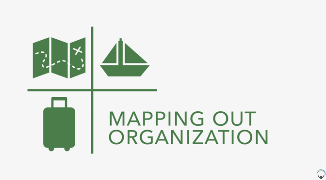 Mapping Out Organization